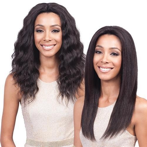 Bobbi Boss 100% Remi Human Hair 360 Swiss Lace Front Wig – MHLF-V Wet & Wavy Ocean
