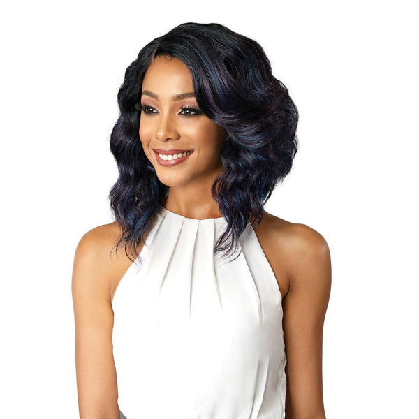 Bobbi Boss Synthetic Swiss Lace Front Wig – MLF-181 Denna