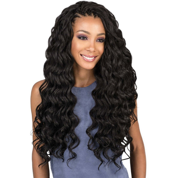 Bobbi Boss Synthetic Braids – Brazilian Ocean Wave 20""