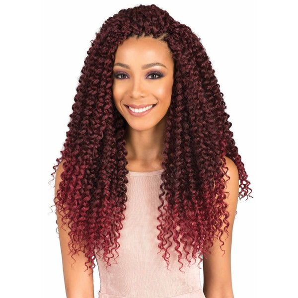 Bobbi Boss Synthetic Braids – Brazilian Water Curl 18""