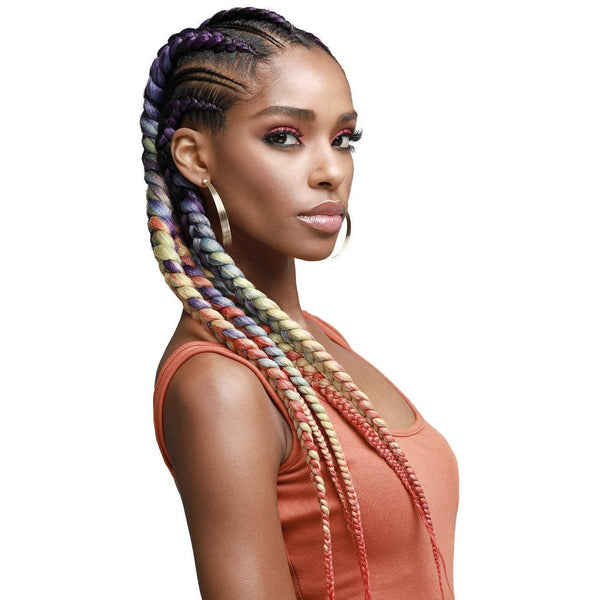 Bobbi Boss Synthetic Braids – Just Braid Pre-Feathered 54""