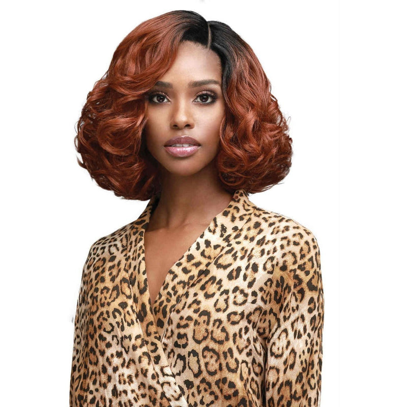 Bobbi Boss Premium Synthetic Swiss Lace Front Wig – MLF-389 Cindy