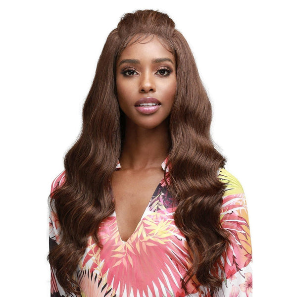 Bobbi Boss Synthetic Unique Lace Part Lace Front Wig – MLF-364 Jazzlyn