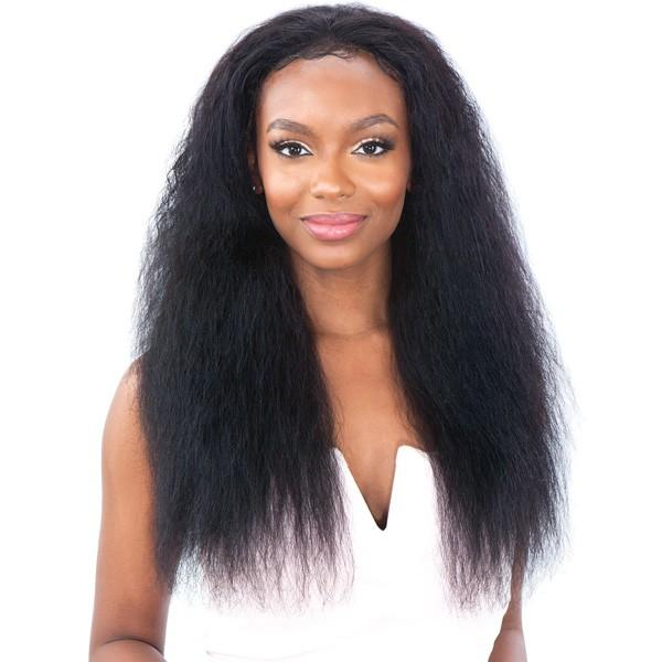 Shake N' Go Naked Brazilian Human Hair Lace Front Wig - Bohemian Curl