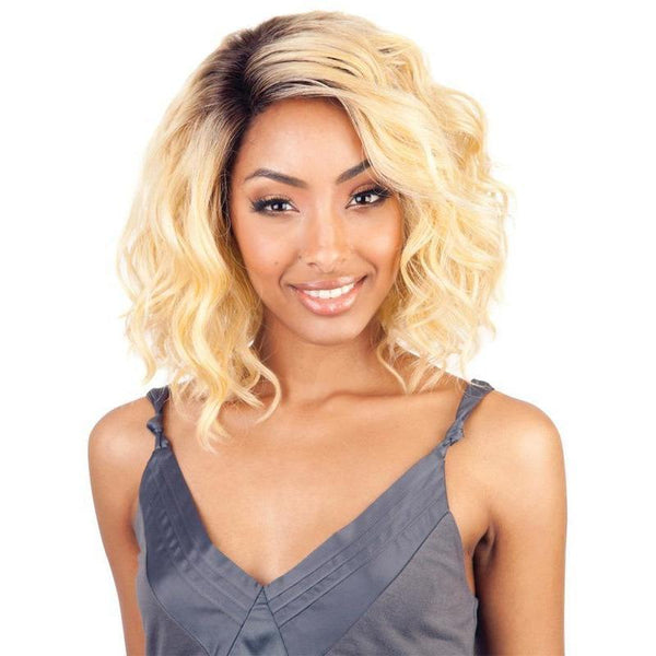 Isis Collection Brown Sugar Human Hair Blend Lace Front Wig – BS206