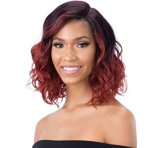 Model Model Synthetic C.E.O Lace Front Wig - CEO-01