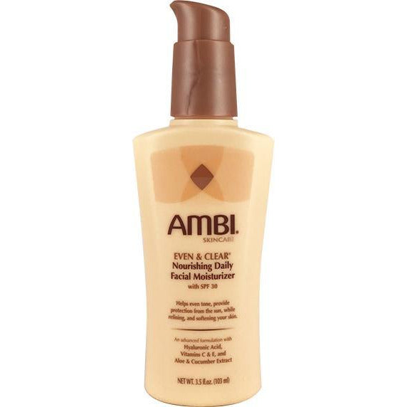 Ambi Skincare Even & Clear Nourishing Daily Facial Moisturizer 3.5 OZ