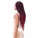 FreeTress Equal Synthetic Crochet Braids - Royal Gorgeous Loc 22""