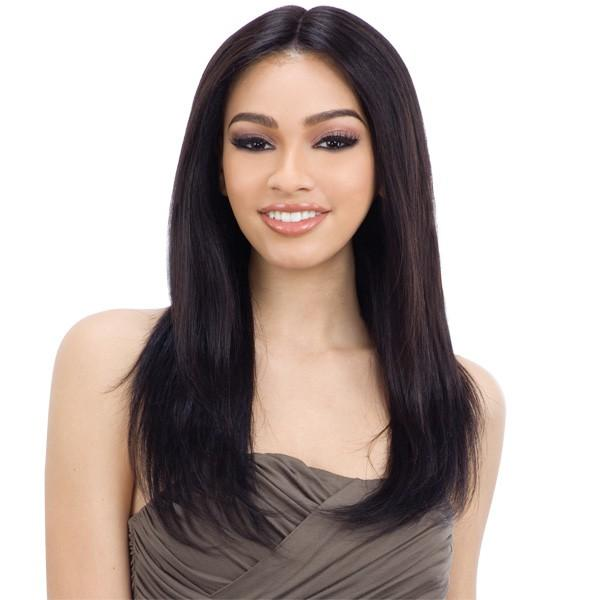 Shake N' Go Naked Brazilian Natural 100% Human Hair Lace Front Wig - Candice