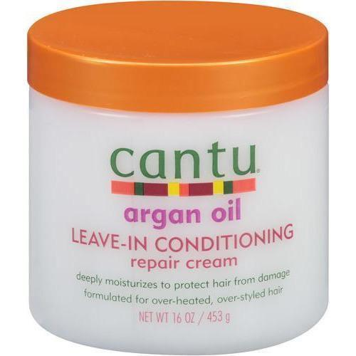 Cantu Argan Oil Leave-In Conditioning Repair Cream 16 OZ