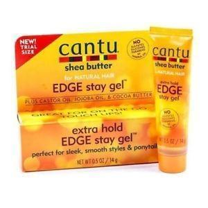 Cantu Shea Butter Extra Hold Edge Stay Gel 0.5 OZ