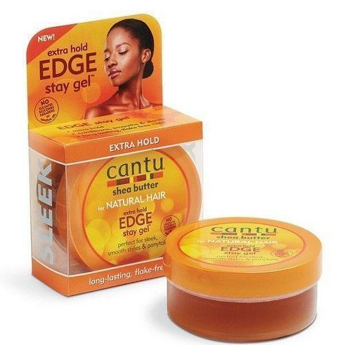 Cantu Shea Butter Extra Hold Edge Stay Gel 2.25 OZ