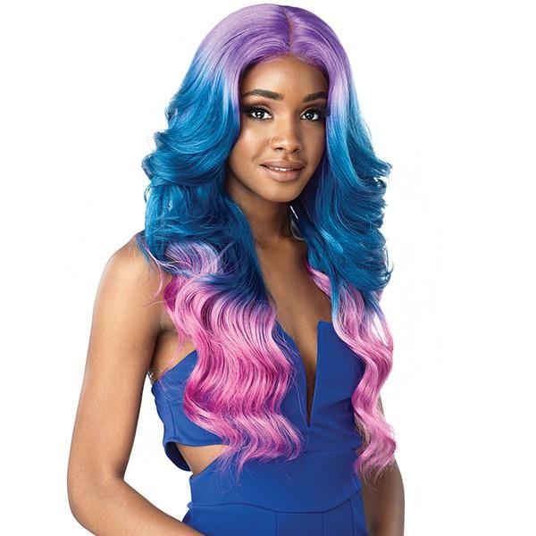 Sensationnel Synthetic Shear Muse Lace Front Edge Wig - Chana