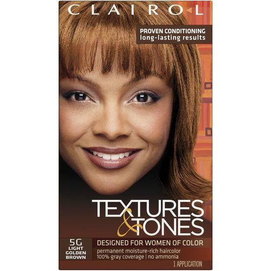 Clairol Professional Textures & Tones Kit – 5G Light Golden Brown
