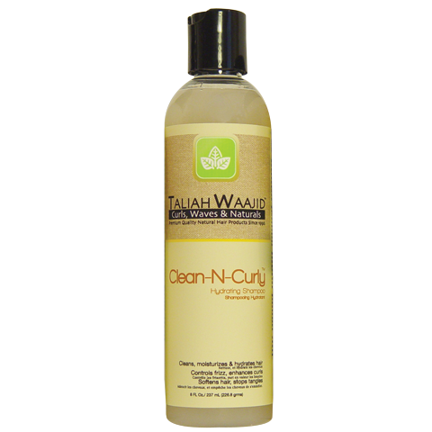 Taliah Waajid Clean- N- Curly Hydrating Shampoo 8 FL.OZ