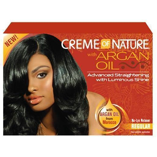 Creme Of Nature with Argan Oil No-Lye Relaxer REGULAR
