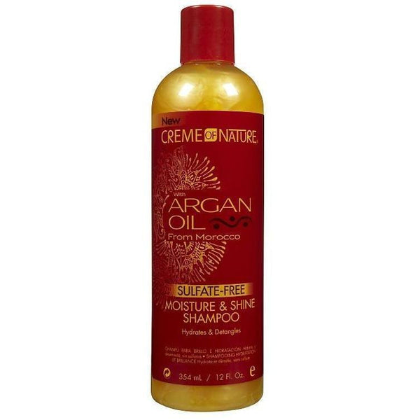 Creme Of Nature Argan Oil Sulfate-Free Shampoo 12 oz