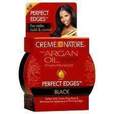 Creme of Nature Argan Oil Perfect Edges Black 2.25 OZ