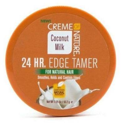 Creme Of Nature Coconut Milk 24 Hr Edge Tamer 2.25 OZ