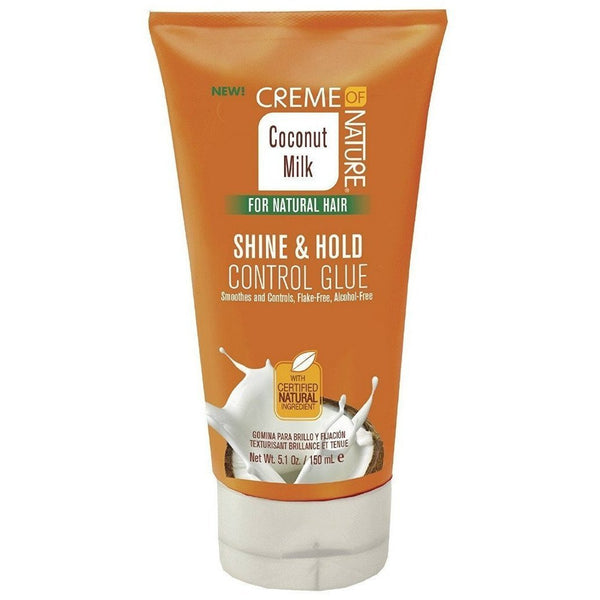 Creme Of Nature Coconut Milk Shine & Hold Control Glue 5.1 OZ