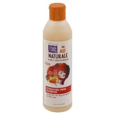 Dark and Lovely Au Naturale Anti-Shrinkage Hydrating Soak Shampoo 13.5 OZ.