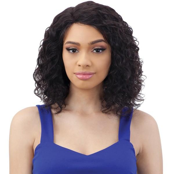 Shake N' Go Naked Brazilian Natural 100% Human Hair Lace Part Wig - Dale