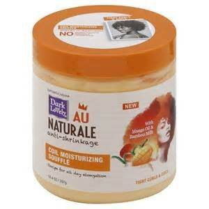 Dark and Lovely Au Naturale Anti-Shrinkage Coil Moisturizing Soufflé 5.3 OZ