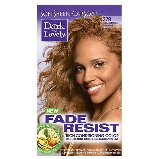 Dark and Lovely Fade Resist Rich Conditioning Color 379 Golden Bronze