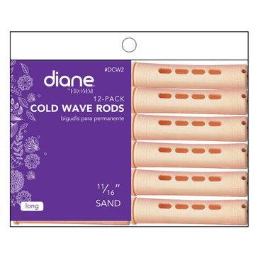 "Diane Cold Wave Rods 11/16"" Sand 12PK #DCW2"