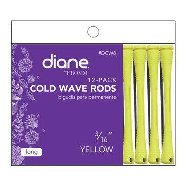 "Diane Cold Wave Rods 3/16"" Yellow 12PK #DCW8"