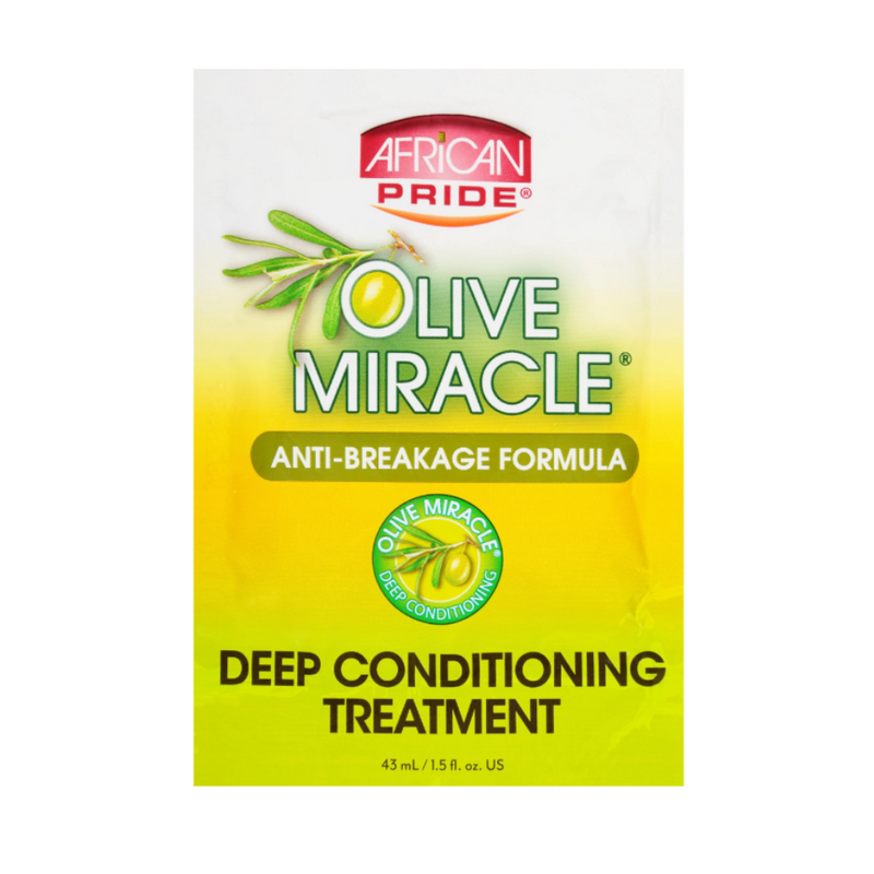 African Pride Olive Miracle Deep Treatment Conditioning Masque 1.5 OZ