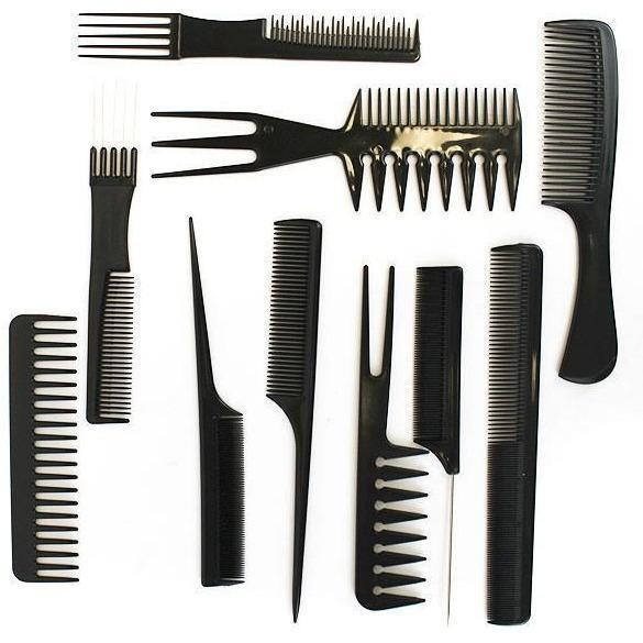 Diane Assorted Comb Kit 10-Pack