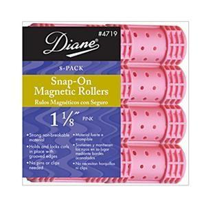 "Diane 1 1/8"" Snap-On Magnetic Rollers 8-Pack"