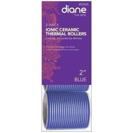 "Diane 2"" Ionic Ceramic Thermal Rollers 3-Pack #D5025"