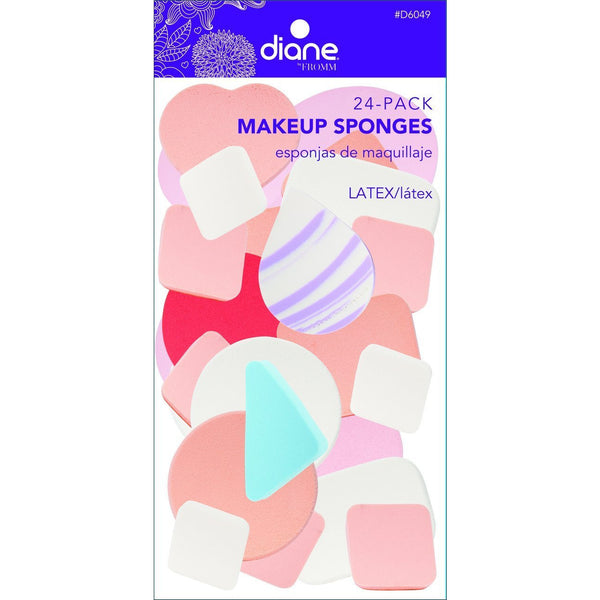 Diane Makeup Sponges 24-Pack #D6049