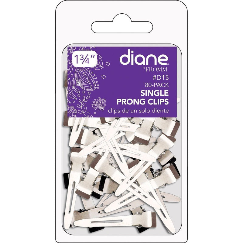 Diane Single Prong Clips 80-Pack