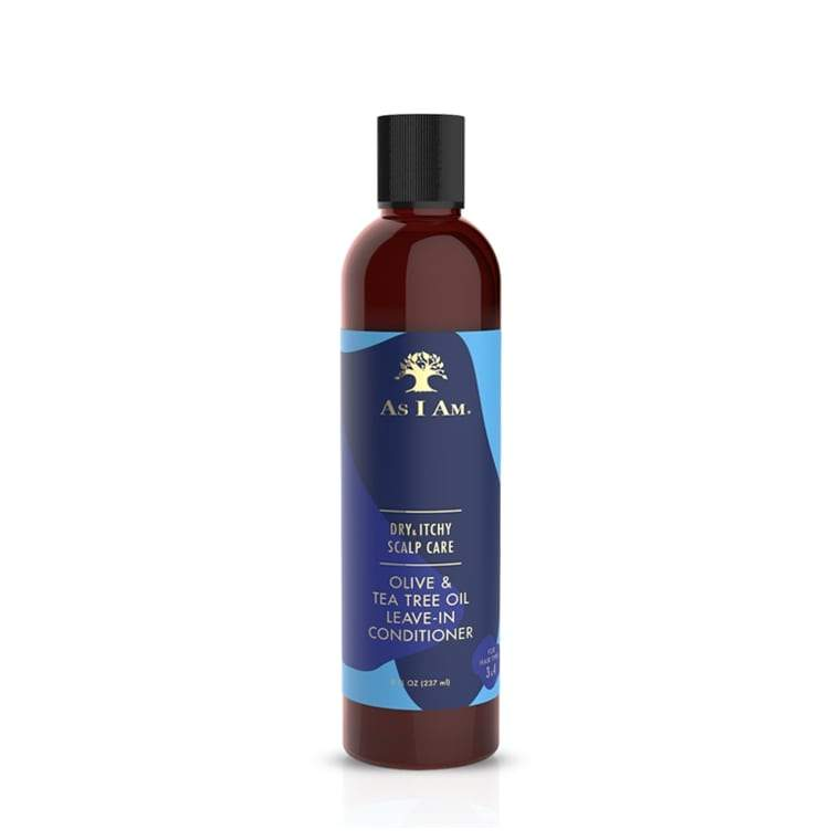 As I Am Dry & Itchy Scalp Care Olive & Tea Tree Oil Leave-In Conditioner 8.0 OZ