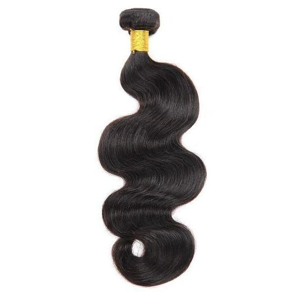 Black Hairspray 100% Natural 10A+ Unprocessed Human Hair Weave – Body Wave