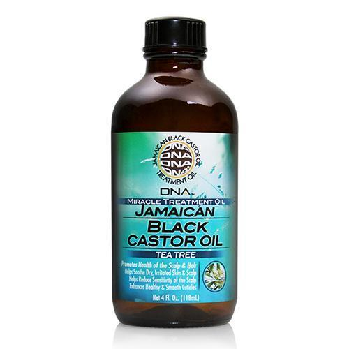 DNA Jamaican Black Castor Oil Tea Tree 4 OZ