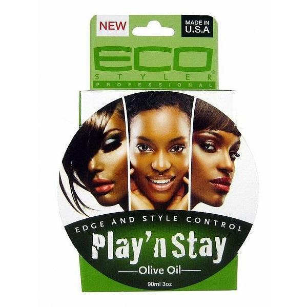 Eco Styler Play 'N Stay Edge & Style Control Olive Oil 3 OZ