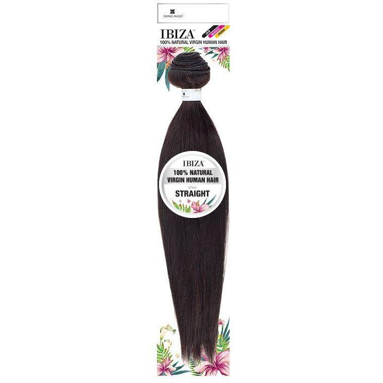 Shake-N-Go Ibiza Natural Virgin Human Hair Weave - Straight