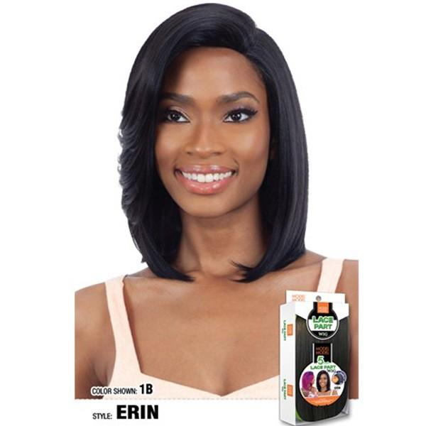 Model Model Synthetic 5-Inch Lace Part Wig – Erin