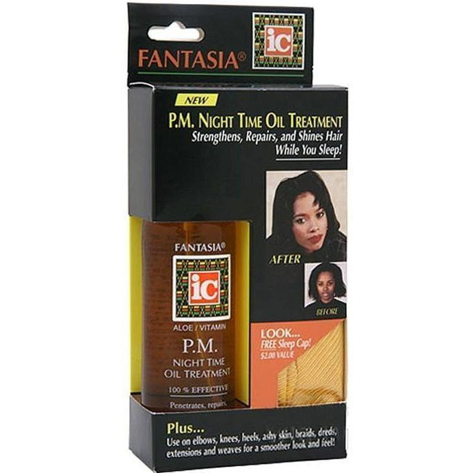 Fantasia IC P.M. Night Time Oil Treatment 4 oz