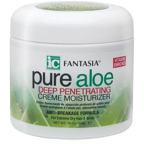 Fantasia IC Pure Aloe Deep Penetrating Creme Moisturizer 16 OZ