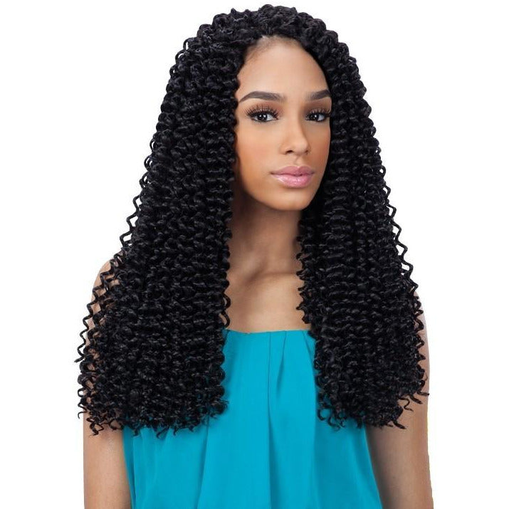 FreeTress Synthetic Braids – 3x Pre-Loop Water Wave 16""