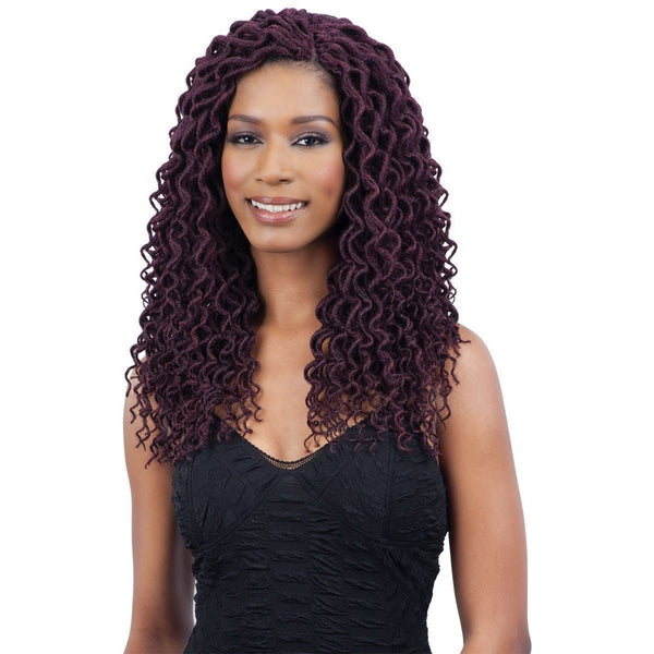 FreeTress Braids – 2x Soft Curly Faux Loc 12""