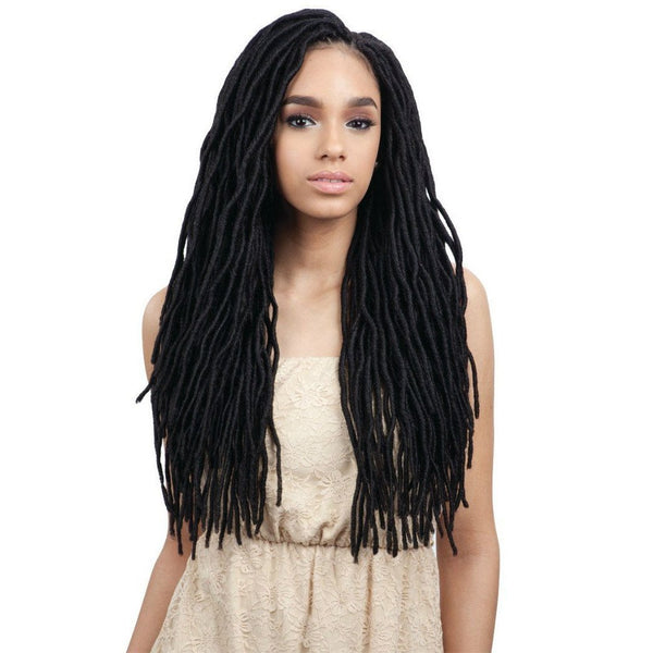 FreeTress Braids – 2x Soft Wavy Faux Loc 20""