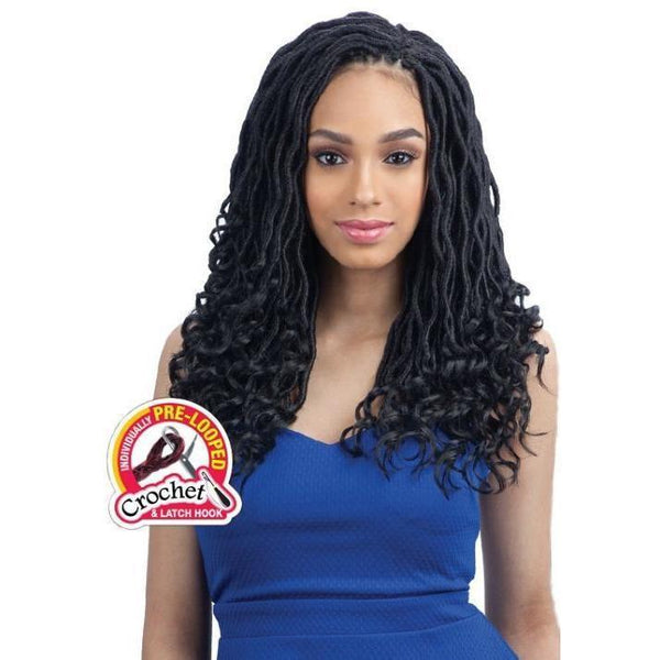 FreeTress Braids – Goddess Loc 14""
