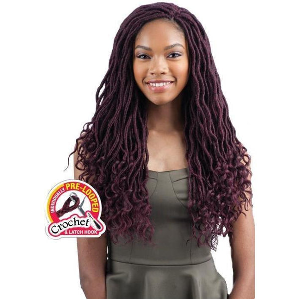 FreeTress Braids – Goddess Loc 18""
