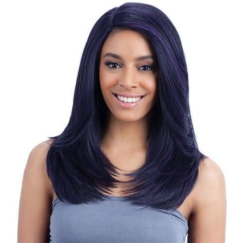 FreeTress Equal Synthetic Lace Front Deep Invisible L Part Wig - Jannie